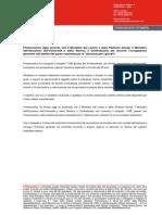 Finmeccanica sigla accordo per favorire l'occupazione giovanile
