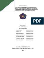 Laporan Fisiologi Hewan 1 Revisi