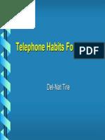 Phone Training