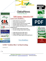 1st April,2014 Daily Global Rice E-Newsletter by Riceplus Magazine (Repaired)