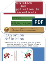 PEGylation and Its Application in Pharmaceuticals