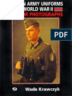 German Army Uniforms of World War II in Color Photographs