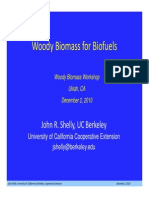 Woody Biomass for Biofuels (79013)