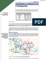 World Oil Transit Chokepoints (World-oil-chokepoints)
