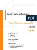 SaaS Testing Overview - Foundation