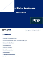 Digital Landscape Update 2013 Sep