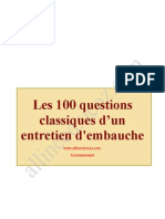 100 Questions Classiques