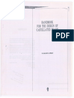 Handbook for the Design of Castellated Beams (Indian Standard)