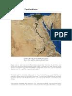 Egypt Travel Destinations