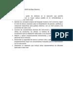 PROGRAMA DE ESTUDIOS de Bajo Eléctrico