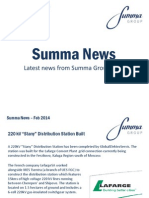 Summa Group Feb 2014 news