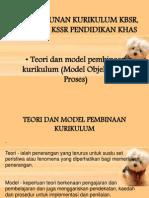 Teori Dan Model Pembinaan Kurikulum