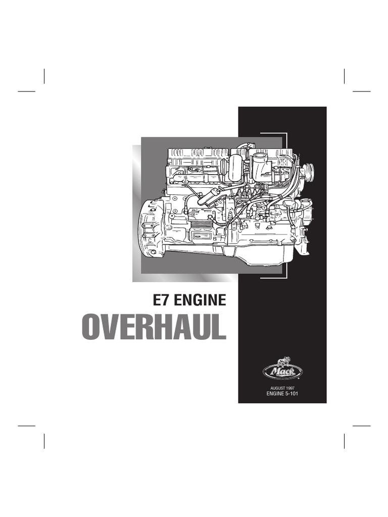 Mack E7 Pln Service Manual  5