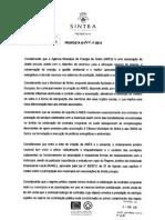 Proposta de dissolução/extinção da Agência Municipal de Energia de Sintra