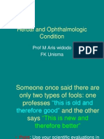 Herbal Andf Eye Therapies