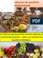 Tradiţii şi obiceiuri din bucătăria moldovenească