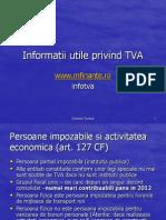 TVA 2008 -3 ore