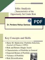 Portfolio Analyis, Risk & Return Pws Dmb Ipb