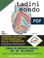 Cittadini Del Mondo Programma 28 30 Apr
