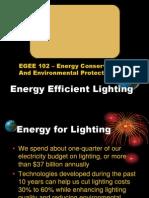 12. Efficient Lighting