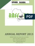 Annual Report Rafford Uganda-2013