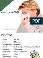 Laporan Kasus Rhinits Alergi