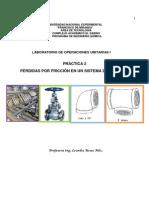 Practica 2- Pérdidas por friccion en un sistema de tuberías(1)