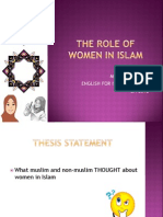 The Role of Women in Islam(2)
