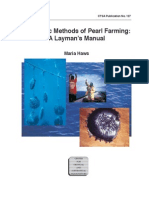 Basic Method of Pearl Farming