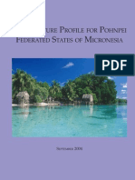 Pohnpei Aqua Profile 2005