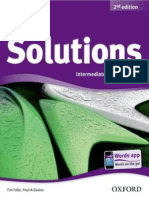 Solutions 2nd Ed Interm Student's Book