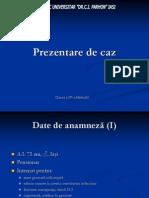 Endocardita Infectioasa Prezentare Caz