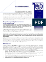 Factsheet Rural Employment and Cooperatives