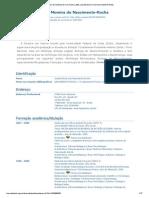 Currículo do Sistema de Currículos Lattes (Josefa Moreira do Nascimento-Rocha)