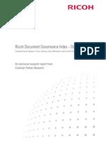 Ricoh Document Governance Index Oct09