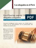 Los abogados en el Perú