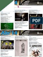 Agenda Cultural ABR Del 2 Al 8 LPA