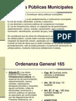 Obras Públicas Municipales - Dra. Susana Buzzo