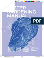 BOP Oyster Garden Manual for Teachers (SI Version)
