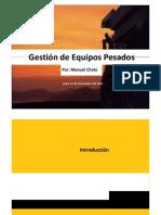 GESTION DE EQUIPOS PESADOS