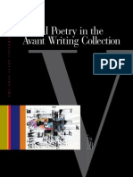 Visual Poetry in the Avant Writing Collection