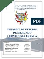 Estudio de Mercados. FRANKA