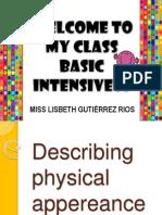 Describing Physical Appereance