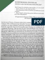 Una Disciplina Segmentada, Escuelas y Corrientes en las Ciencias Políticas - Gabriel Almond