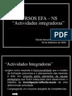 EFA Actividades Integradoras