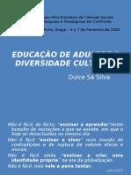 EDUCAÇÃO DE ADULTOS E DIVERSIDADE CULTURAL