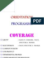 Orientation Ppt