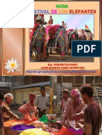 India - Jaipur - Festival de Los Elefantes