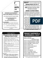 Embedded Project Titles Book 2012-12 -- IEEE 2012 Power Electronics Project Titles