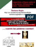 Jornades 11 Nov Barbara Biglia